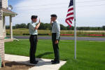 Oath of reenlistment photo 1