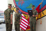 GySGT being read Promotion Order
